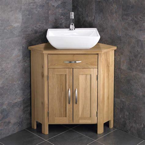 corner freestanding cabinet bathroom vanity unit cm wide