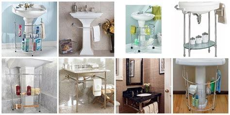 Best Pedestal Sink Storage Solutions Images On