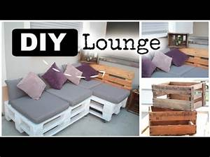 DIY Lounge aus Europaletten #ad - YouTube