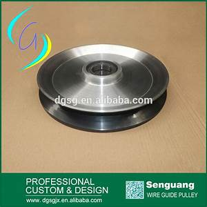 Large Diameter Copper Wire Guide Pulley Electric Wire