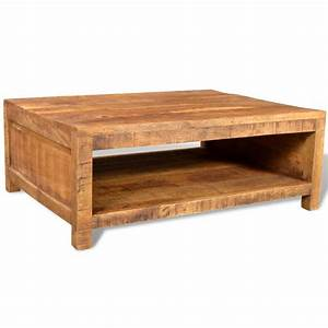 antique style mango wood coffee table vidaxlcom With antique looking coffee tables