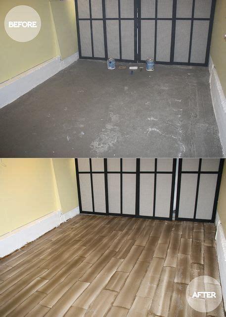 diy faux hardwood floors faux wood flooring diy