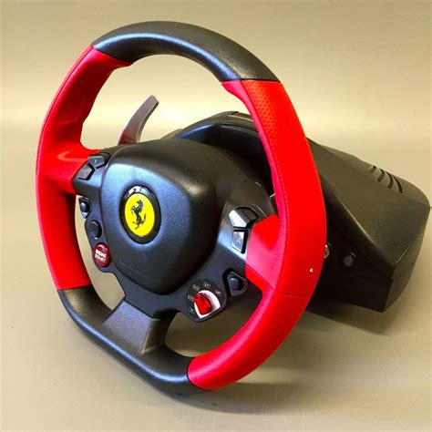 Thrustmaster ferrari 458 is a beast when it comes to the best xbox one steering wheels. Super Car: Thrustmaster Ferrari 458 Spider Racing Wheel For Xbox One Instructions