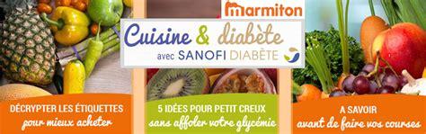cuisine pour diabetiques et cholesterol marmiton et sanofi s associent pour simplifier la cuisine