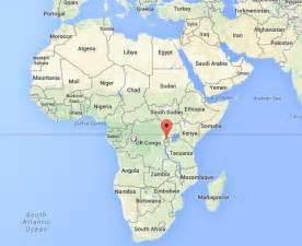 Rwanda On Africa Map