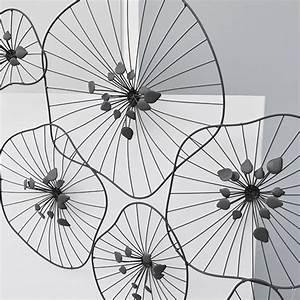 Decoration Murale Fer : wel e decoration fer forge bois neuf metal deco murale ~ Melissatoandfro.com Idées de Décoration