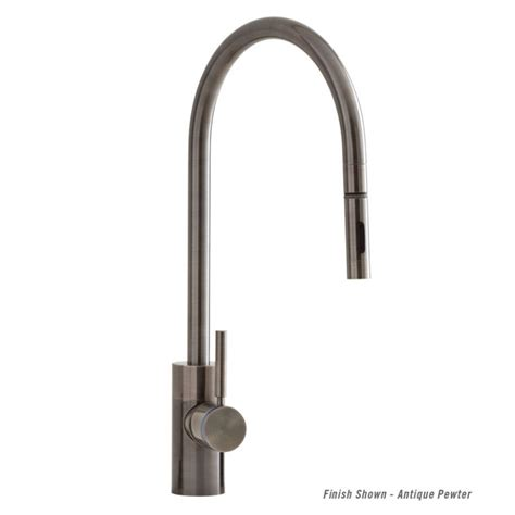 reach kitchen faucet 5300 plp contemporary extended reach pulldown kitchen faucet