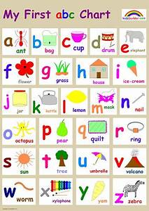 use when making personal spelling books for the With letter chart with pictures