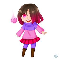 glitchtale a welcoming smile by nagisa imouto on deviantart