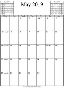 calendar printable holidays