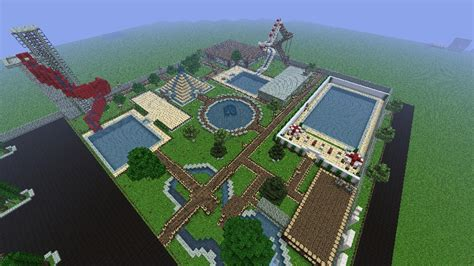 Water Park Minecraft Project