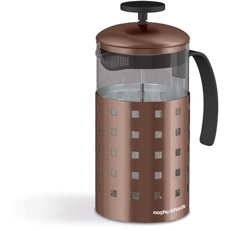 morphy richards kitchen accessories morphy richards 974655 8 cup cafetiere 1000ml copper iwoot 7854