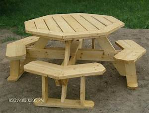 Octagon Picnic Table Plans--Easy to do!! eBay