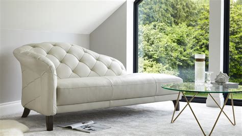 livingroom chaise modern leather chaise lounge living room seating uk