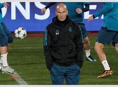 Zidane et le retard du Real Madrid «Je ne vais pas