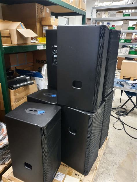 NEXO GEOS12 system package (12 box) - Buy from Gearwise ...