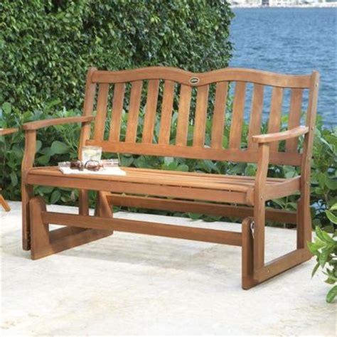 wood workwooden glider bench plans   build diy