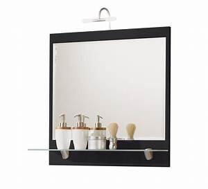 Spiegel Rund 70 Cm : bad spiegel salona mit ablage und halogenleuchte 70 cm breit grau bad spiegelschr nke ~ Whattoseeinmadrid.com Haus und Dekorationen