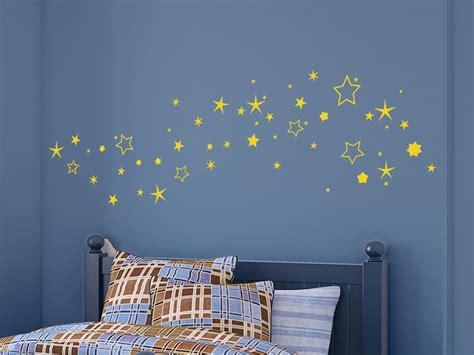 Wandtattoo Kinderzimmer Himmel by Wandtattoo Sternenhimmel Bei Wandtattoo De