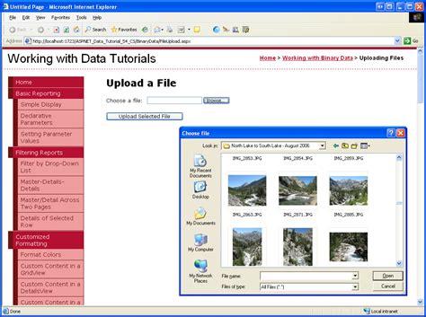 Uploading Files (c#)