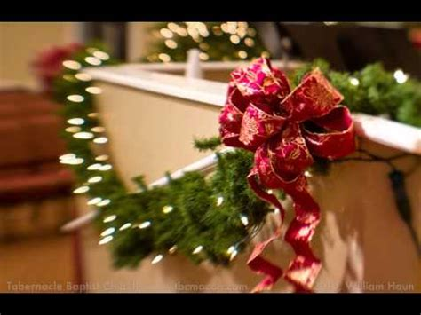 church christmas decorations youtube