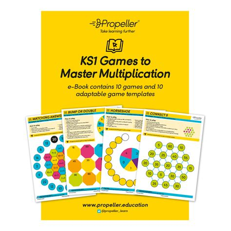 ks1 games to master multiplication propeller education