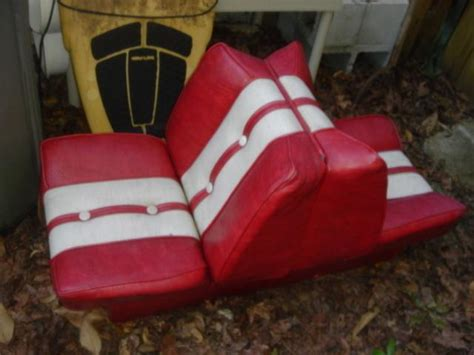 Vintage Back To Back Boat Seats by Sell Boat Seat Thwart Dinghy New Won T Roll