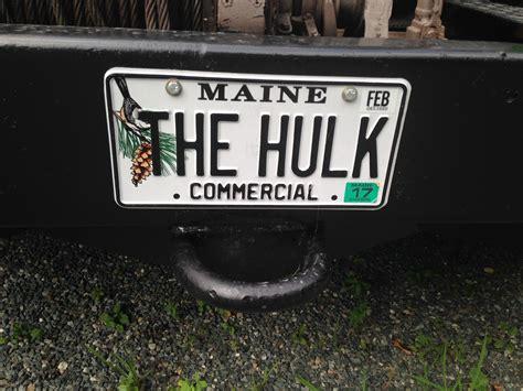 Maine Motor Vehicle Registration