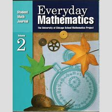 Everyday Mathematics Student Math Journal 2 Grade 5 Isbn 1570399158 Free Shipping