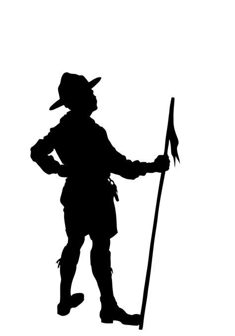 Boy scout silhouette clipart free pictures - Clipartix