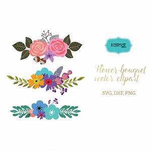Flower svg, Flowers wreaths svg, Flower bouquet svg