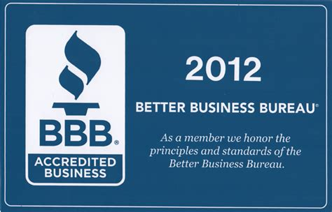 company bureau borelli designs is now a bbb accredited business