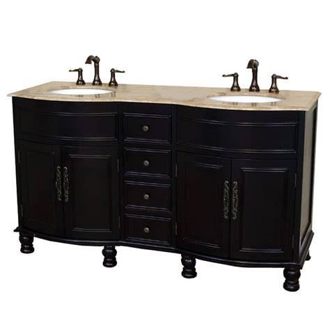Cambria Vanity by Bellaterra Cambria 62 Inch W Vanity In