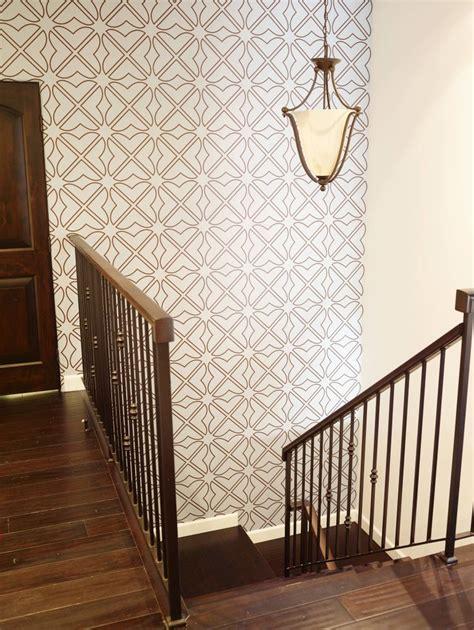 wallpaper  aronel  staircase wall ecobungalow la