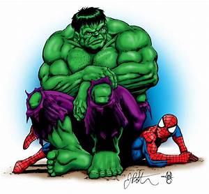 Image Gallery spider man hulk