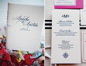 anneke austin39s nautical inspired wedding invitations With wedding invitation printing austin