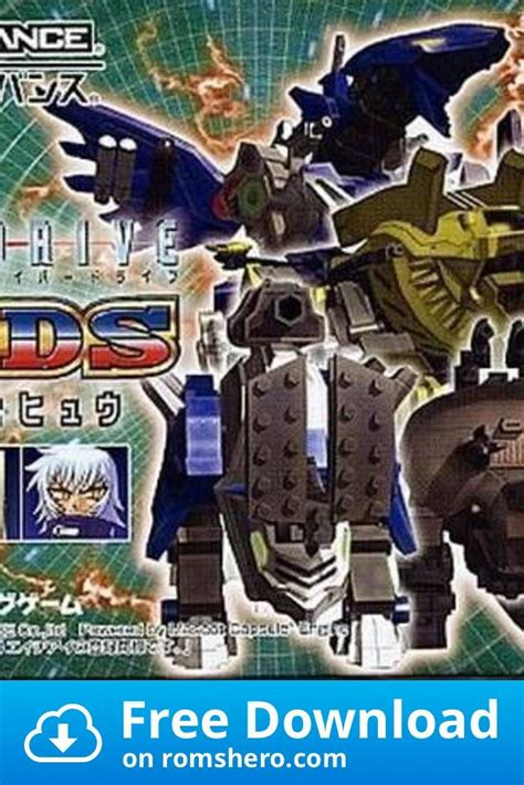gba zoids rom gameboy advance cyberdrive games boy game