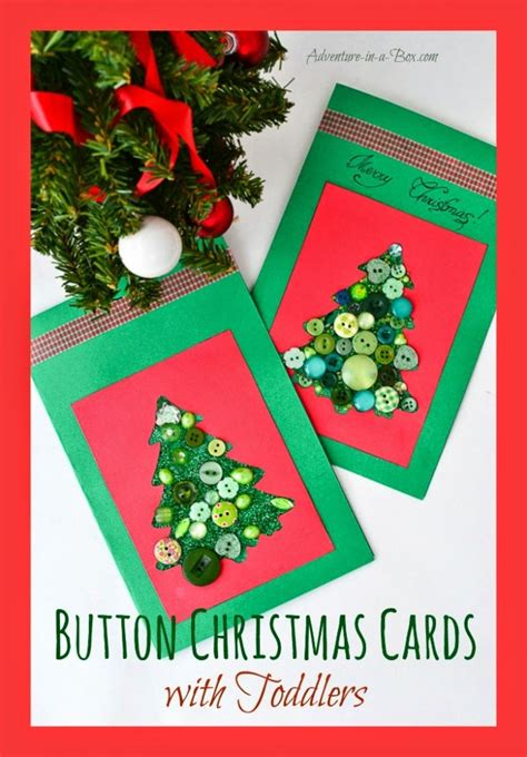 simple christmas cards  kids   crafty kids  home