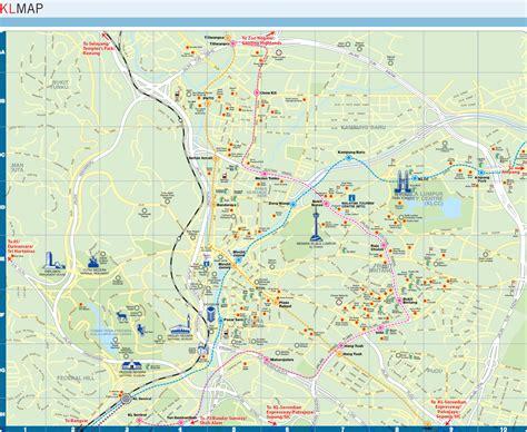 metro map  kuala lumpur metro maps  malaysia