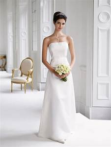 plain elegant white wedding dress designs wedding dress With plain simple wedding dresses