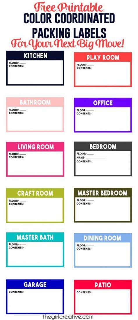 organizational printables  printable color