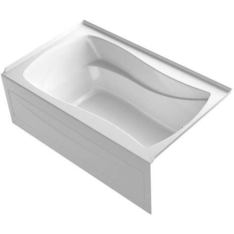 Air Bath Tub by Kohler Mariposa 5 Ft Air Bath Tub In White K 1239 Gra 0