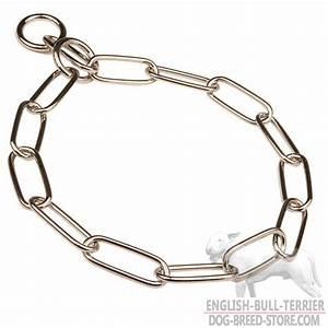 Buy Chrome Plated Bull Terrier Choke Collar | Training ...