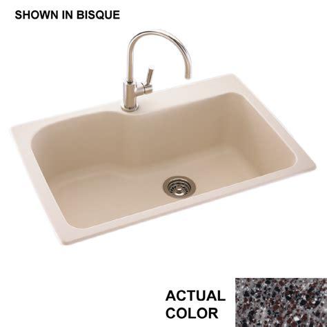 1 basin kitchen sink shop swanstone single basin drop in or undermount