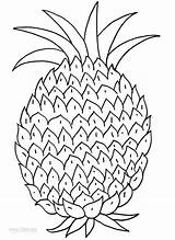 Pineapple Coloring Pages Printable Fruits Tart Pineapples Cool2bkids Children Fruit Them Getcoloringpages Pine Apple Watermelon sketch template