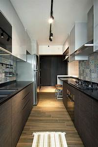 Small, Contemporary, Kitchen, Design, Inside, Stylish, Home, In, Singapore