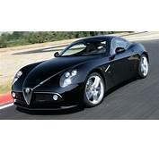 Cool Cars Alfa Romeo 8C Competizione Black Rear View