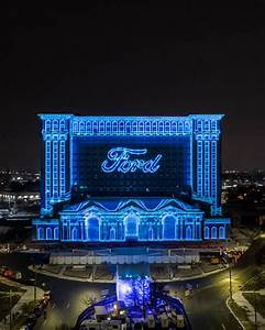 Ford Holds Michigan Central Station Winter Festival - The