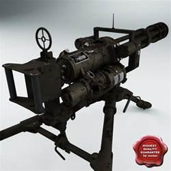 Mounted M134 Minigun