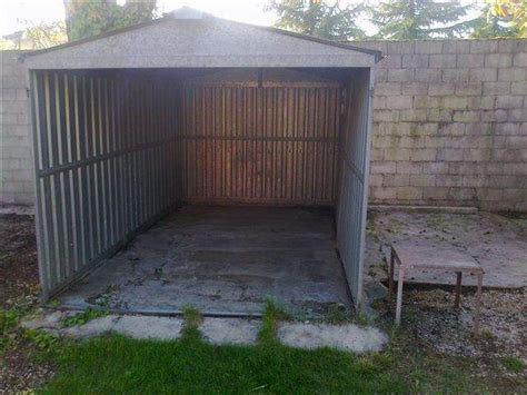 cerco box auto box lamiera zincata auto prefabbricato a gorizia
